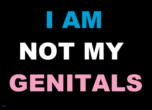 I am not my genitals