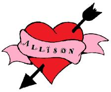 Allision heart